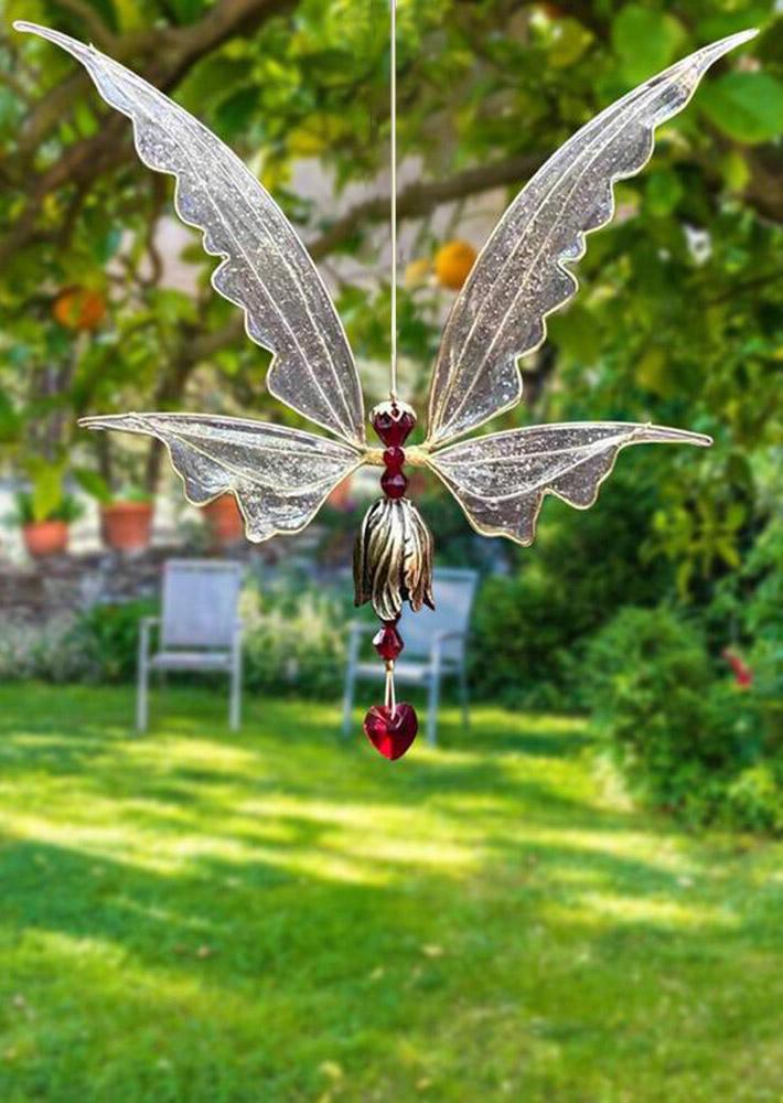 Angel Butterfly Wings Resin Wind Chime