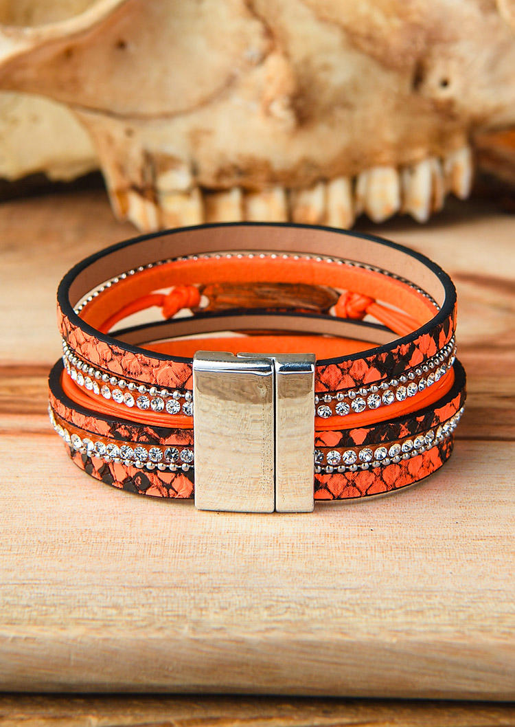 Blessed Multi-layered Fluorescent Magnetic Bracelet