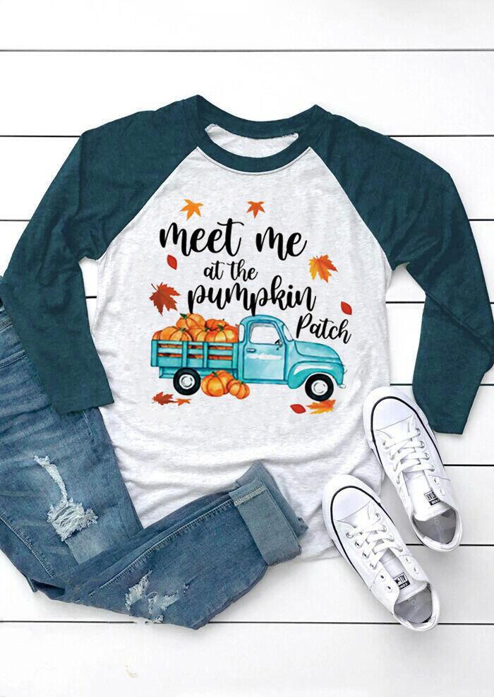 Meet Me At The Pumpkin Patch - Light Grey