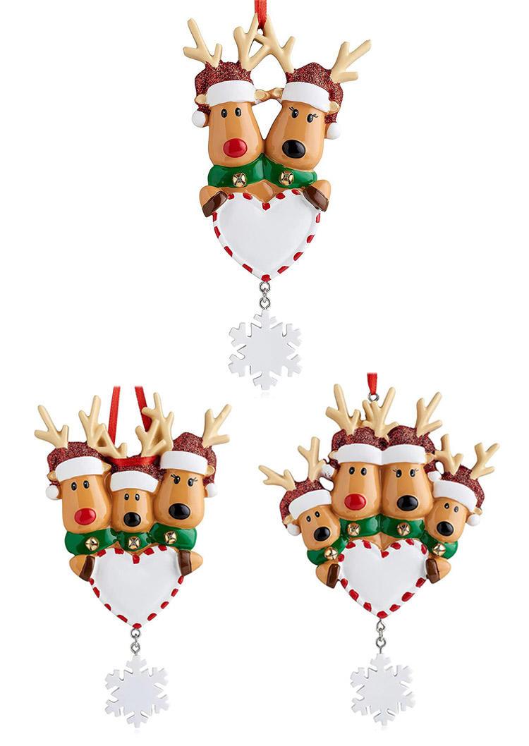 Funny Christmas Reindeer Ornament Decoration Ornament