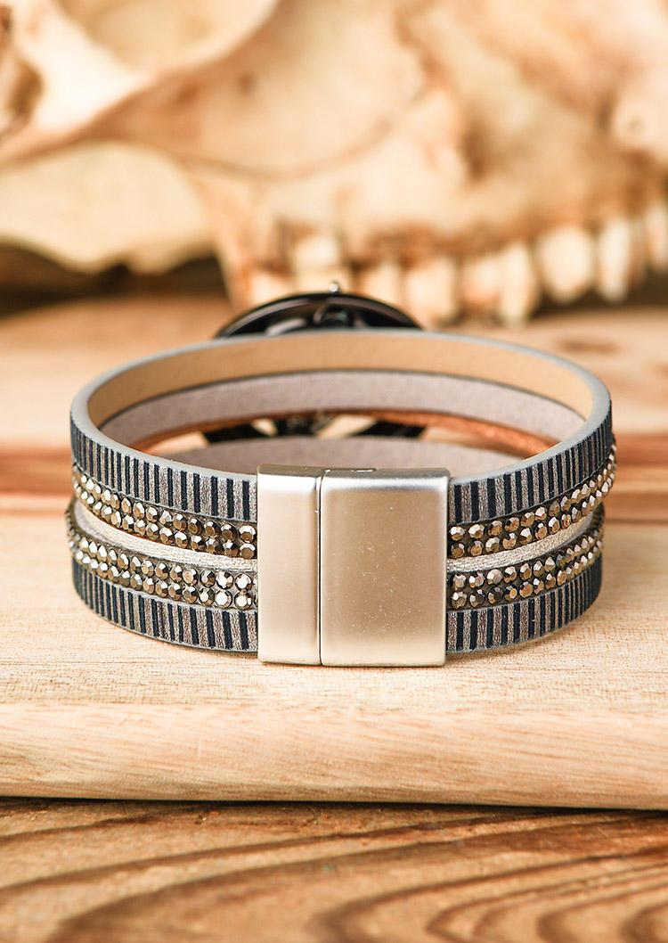 Leaf Magnetic Buckle Bracelet