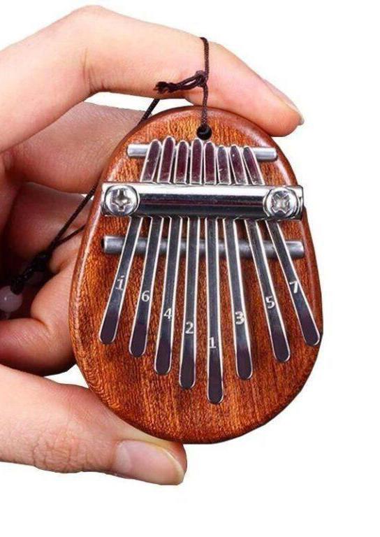 Portable 8-Key Mini Kalimba Finger Thumb Piano