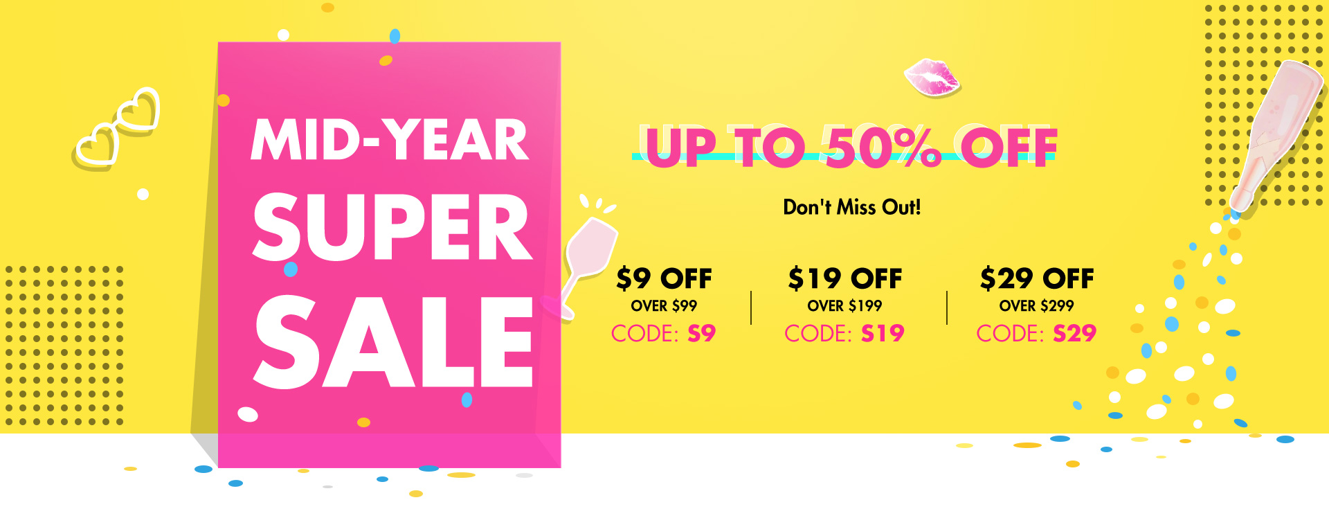 Fairyseason Mid-year Sale